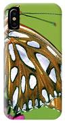 Gulf Fritillary Butterfly Agraulis IPhone Case