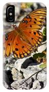 Gulf Fritillary Butterfly - Agraulis Vanillae IPhone Case