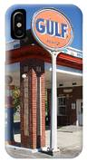 Gulf Station Sign IPhone Case