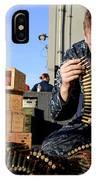 Gunners Mate Sorts Ammunition IPhone Case