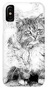 Gutter Kitties Seven IPhone Case