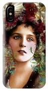 Gypsy Girl Of Autumn Vintage IPhone Case
