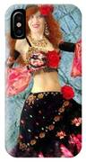 Gypsy Queen Sofia The Bellydancer IPhone Case
