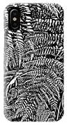 H Ferns Cont Z IPhone Case