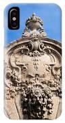 Habsburg Gate Details In Budapest IPhone Case