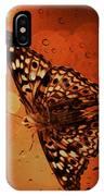 Hackberry Emperor - Asterocampa Celtis IPhone Case
