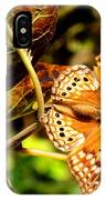 Hackberry Emperor Butterfly IPhone Case