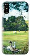 Hadlow Cricket Club IPhone Case