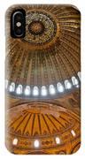 Hagia Sofia Interior 02 IPhone Case
