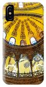 Hagia Sofia Interior 07 IPhone Case