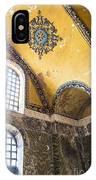 Hagia Sofia Interior 14 IPhone Case