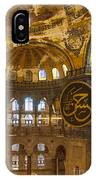 Hagia Sofia Interior 15 IPhone Case