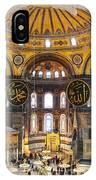 Hagia Sofia Interior 35 IPhone Case