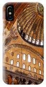 Hagia Sophia Dome 03 IPhone Case