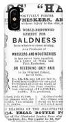 Hair Restorative, 1891 IPhone Case