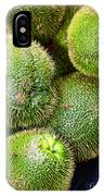 Hairy Peary Chayote Squash By Diana Sainz IPhone Case