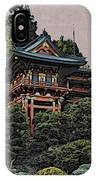 Hakoni Tea House IPhone Case