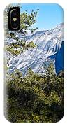 Half  Dome From Sentinel Dome Trail In Yosemite Np-ca IPhone Case