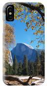 Half Dome In Yosemite IPhone Case