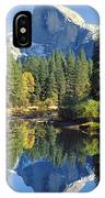 2m6708-half Dome Reflect IPhone Case