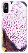 Half Orchid IPhone Case