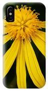 Half Yellow IPhone Case