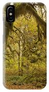 Hall Of Mosses 5 IPhone Case