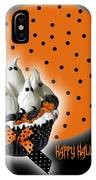 Halloween Ghost Cupcake 2 IPhone Case