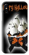 Halloween Ghost Cupcake 3 IPhone Case