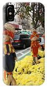 Halloween In N Y C Streets  IPhone Case