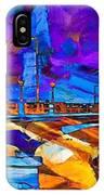 Hamilton Ohio City Art 14 IPhone Case
