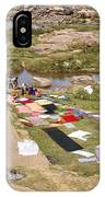 Hampi Bathing Ghats IPhone Case