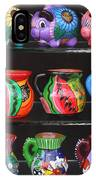 Hand Painted Ceramics Playa Del Carmen Mexico IPhone Case