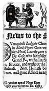 Handbill, 18th Century IPhone Case