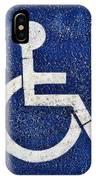 Handicapped Symbol IPhone Case