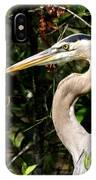 Handsome Heron IPhone Case