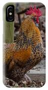 Handsome Rooster IPhone Case