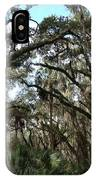 Hang Moss Tree Trail IPhone Case