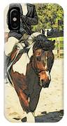 Hang On To Your Painted Horse IPhone Case