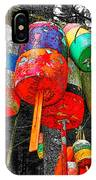 Hanging Lobster Buoys IPhone Case