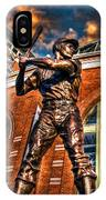 Hank Aaron In Hdr IPhone Case
