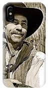 Hank Worden Publicity Photo Red River 1948-2008 IPhone Case