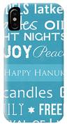 Hanukkah Fun IPhone Case