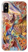 Hanukkah In Magic Garden IPhone X Case
