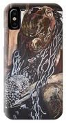 Hanuman In Chains IPhone Case