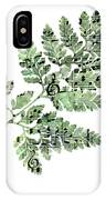 Happy Adventure Music Fern IPhone Case