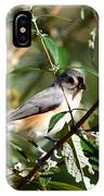 Happy As A Titmouse IPhone X Case