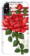 Happy Birthday America IPhone X Case