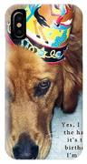 Happy Birthday Buddy  IPhone Case