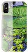 Happy Birthday Water Lily IPhone Case